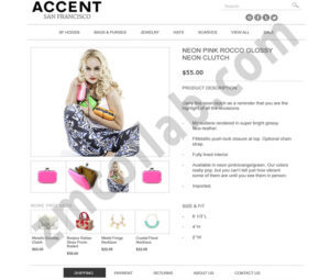 ZMCollab ebay, amazon, shopify, wordpress, bigcommerce store design and product listing templates Accent