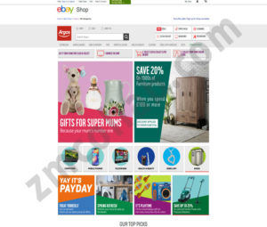 ZMCollab ebay, amazon, shopify, wordpress, bigcommerce store design and product listing templates AIP Electronic