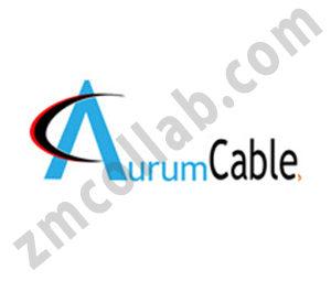 ZMCollab logo design Aurum Cable