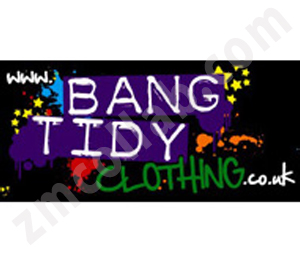 ZMCollab logo design Bang Tidy Clothing