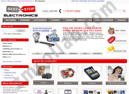ZMCollab ebay, amazon, shopify, wordpress, bigcommerce store design and product listing templates Best-Stop-Electronics