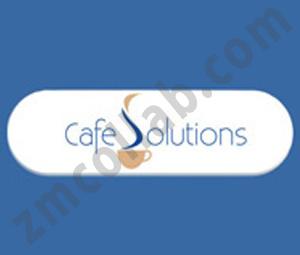 ZMCollab logo design Cafe Solutions