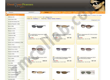 ZMCollab ebay, amazon, shopify, wordpress, bigcommerce store design and product listing templates Designer Frames