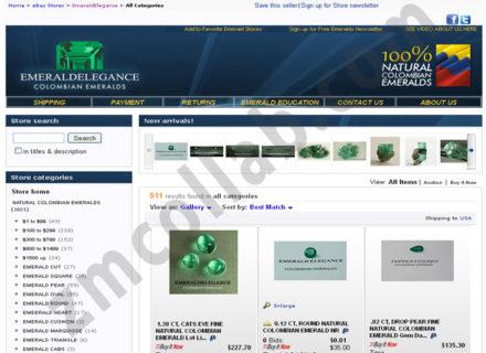 ZMCollab ebay, amazon, shopify, wordpress, bigcommerce store design and product listing templates Emeraldelegance