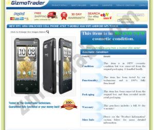 ZMCollab ebay, amazon, shopify, wordpress, bigcommerce store design and product listing templates Gizmotrader