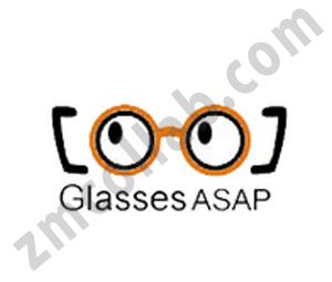 ZMCollab logo design Glasses ASAP