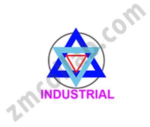 ZMCollab logo design Industrial