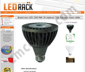 ZMCollab ebay, amazon, shopify, wordpress, bigcommerce store design and product listing templates Ledrack