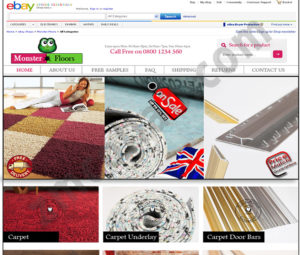 ZMCollab ebay, amazon, shopify, wordpress, bigcommerce store design and product listing templates Monster Floors