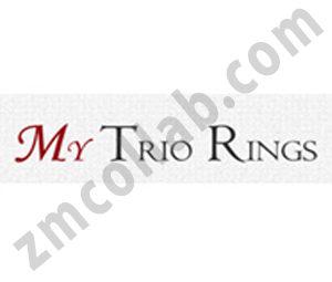 ZMCollab logo design My Trio Rings