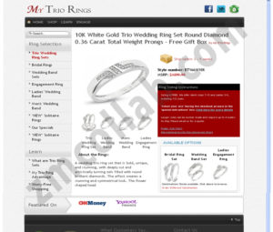 ZMCollab ebay, amazon, shopify, wordpress, bigcommerce store design and product listing templates My Trio Rings