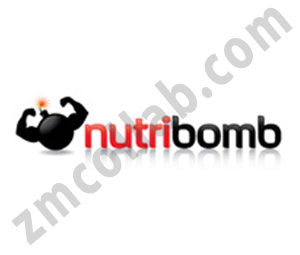 ZMCollab logo design Nutribomb