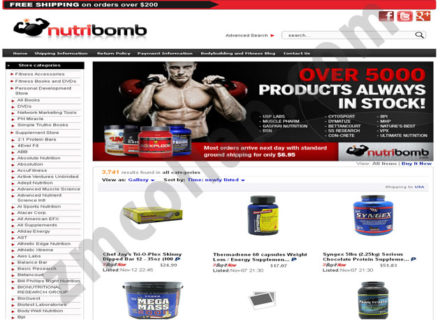 ZMCollab ebay, amazon, shopify, wordpress, bigcommerce store design and product listing templates Nutribomb