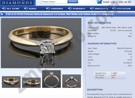 ZMCollab ebay, amazon, shopify, wordpress, bigcommerce store design and product listing templates OR Diamonds