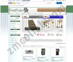 ZMCollab ebay, amazon, shopify, wordpress, bigcommerce store design and product listing templates Petfido