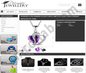 ZMCollab ebay, amazon, shopify, wordpress, bigcommerce store design and product listing templates Premier Jewellery
