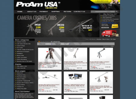 ZMCollab ebay, amazon, shopify, wordpress, bigcommerce store design and product listing templates ProAm USA