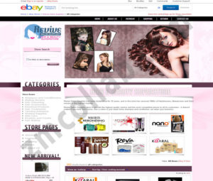ZMCollab ebay, amazon, shopify, wordpress, bigcommerce store design and product listing templates Revive Saloon