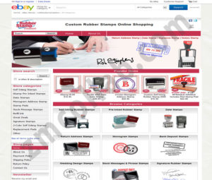 ZMCollab ebay, amazon, shopify, wordpress, bigcommerce store design and product listing templates Rubber Stamp Creation