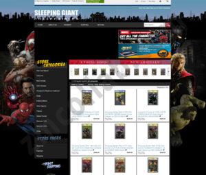 ZMCollab ebay, amazon, shopify, wordpress, bigcommerce store design and product listing templates Sleeping Giant