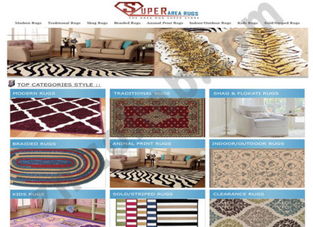 ZMCollab ebay, amazon, shopify, wordpress, bigcommerce store design and product listing templates Super Area Rugs