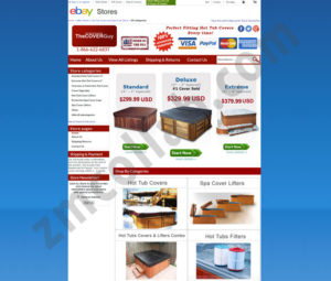 ZMCollab ebay, amazon, shopify, wordpress, bigcommerce store design and product listing templates The Cover Guy