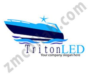 ZMCollab logo design Triton LED