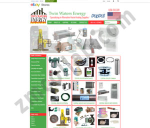 ZMCollab ebay, amazon, shopify, wordpress, bigcommerce store design and product listing templates Twin Water Energy