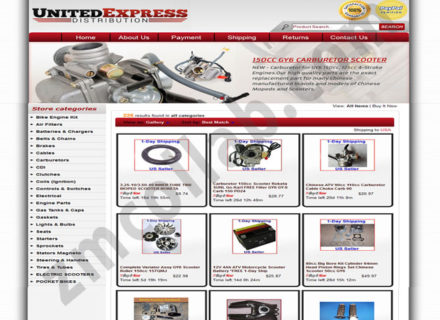 ZMCollab ebay, amazon, shopify, wordpress, bigcommerce store design and product listing templates United Express Distribution
