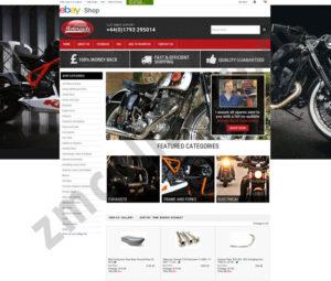 ZMCollab ebay, amazon, shopify, wordpress, bigcommerce store design and product listing templates Vintage Auto Garage