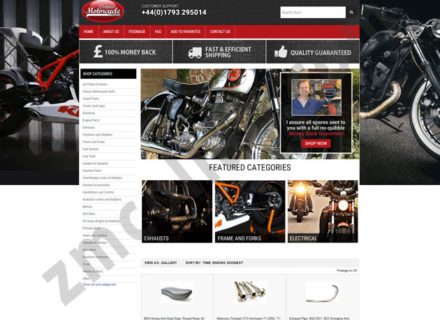 ZMCollab ebay, amazon, shopify, wordpress, bigcommerce store design and product listing templates Vintage Auto Garage