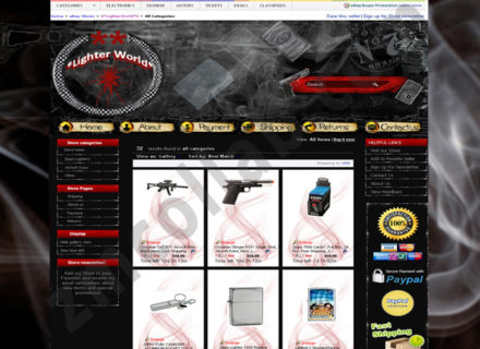 ZMCollab ebay, amazon, shopify, wordpress, bigcommerce store design and product listing templates lighter World
