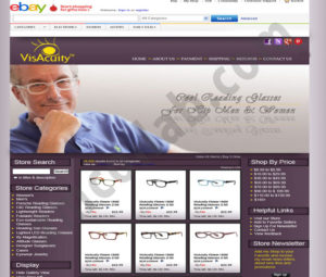 ZMCollab ebay, amazon, shopify, wordpress, bigcommerce store design and product listing templates visacuity